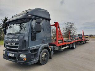 camion bisarca IVECO Eurocargo 140E28 + rimorchio bisarca