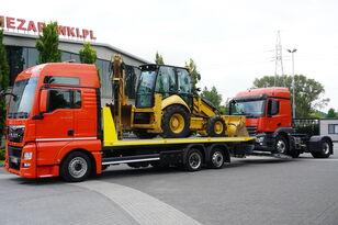 camion bisarca MAN TGX 26.440 XXL , E6 , 6X2 , NEW BODY 7,5m , hydraulic , 2x winch