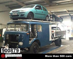 camion bisarca MERCEDES-BENZ LF16V LP710/32