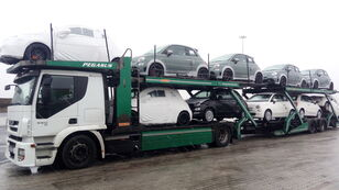 camion bisarca IVECO STRALIS 450 + rimorchio bisarca