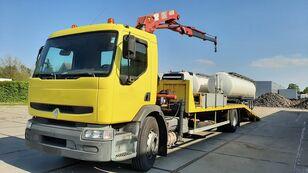 camion bisarca RENAULT Premium 250.19 Crane Winch