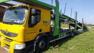 camion bisarca RENAULT Premium 370.18 Euro5 !!! + rimorchio bisarca