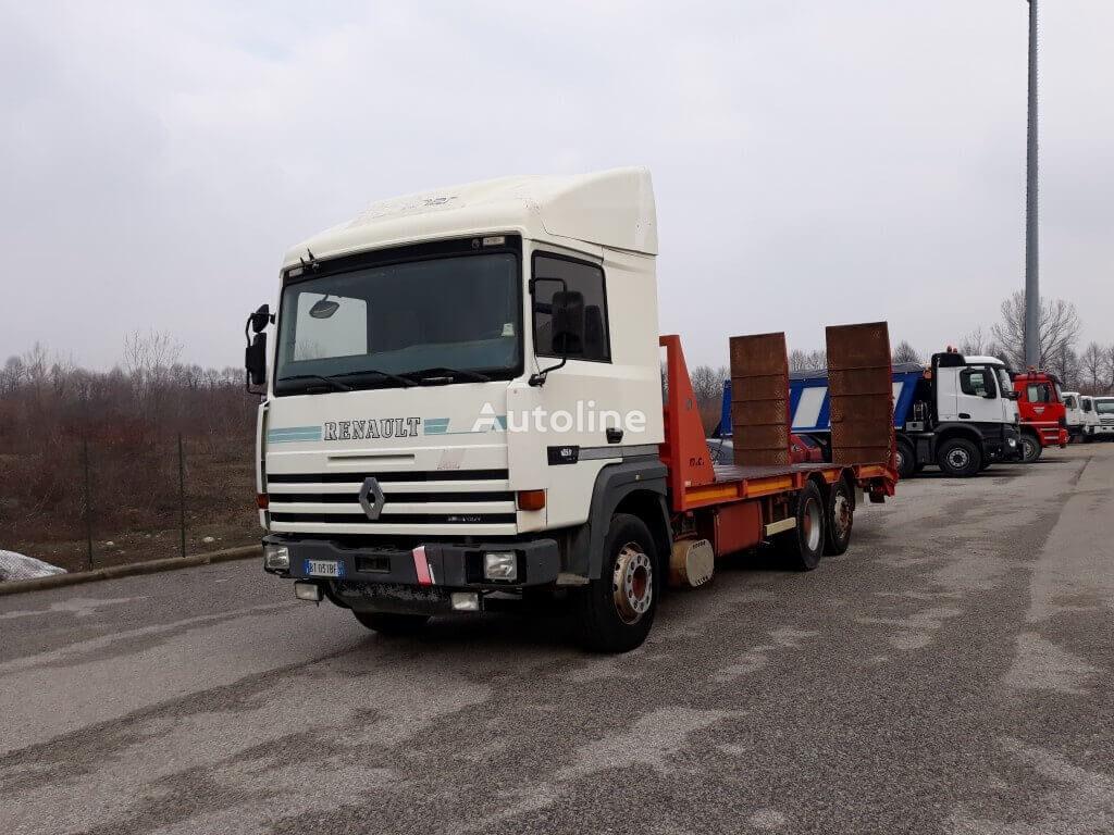 camion bisarca RENAULT R385
