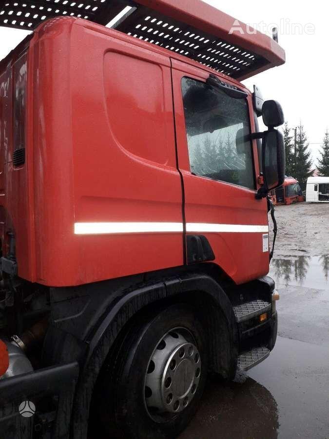 camion bisarca SCANIA P380, semi-trailer trucks per elementi