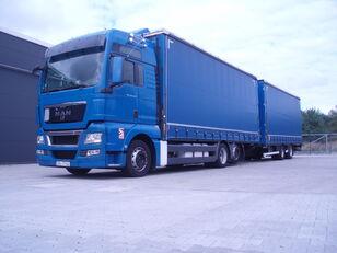 camion centinato MAN TGX 26.440 + rimorchio centinato