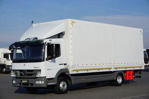 camion centinato MERCEDES-BENZ ATEGO /1222 / E 5 / SKRZYNIA + WINDA / ŁAD. 5 990 KG / 18 PALET