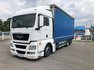 camion centinato MAN TGX 24.440 flatbed