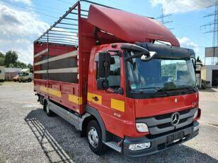 camion centinato MERCEDES-BENZ Atego II 818L