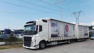 camion centinato VOLVO fh 420 EURO 6 + rimorchio centinato