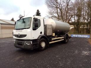 camion cisterna per latte RENAULT citerne ETA alimentaire en inox 2 compartiments