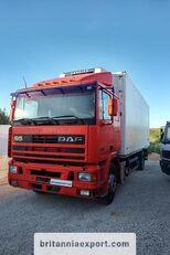camion frigo DAF 95 360 ATI left hand drive ZF manual pump 19 ton