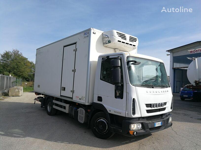 camion frigo IVECO 100E22P EURO 5 FRIGO + PEDANA , ATP FRC SCAD. 2022