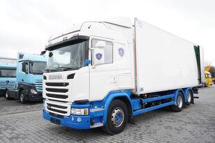 camion frigo SCANIA G490, Meat hooks , 19 EPAL
