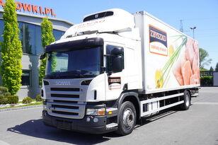 camion frigo SCANIA P280 , E5 , 18 EPAL , Meat HOOKS , tail lift , retarder , sleep