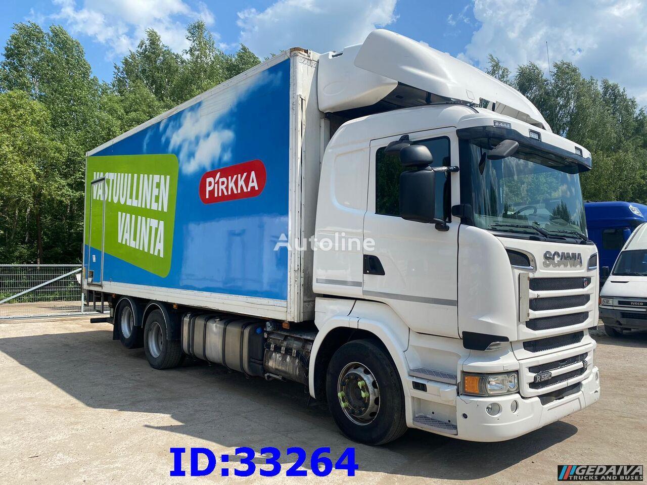camion frigo SCANIA R520 6x2 - Carrier - Euro6