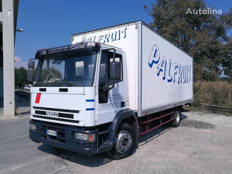 camion furgone IVECO 120E15 FURGONE 6,5 MT + SPONDA CARICATRICE 1,5 TON, BALESTRATO