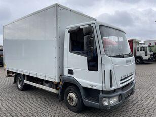 camion furgone IVECO EuroCargo 75 E17 bakwagen plus laadklep