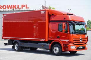 camion furgone MERCEDES-BENZ Atego 1224, E6, 4x2, 6.10m container, GLOB cabin, retarder