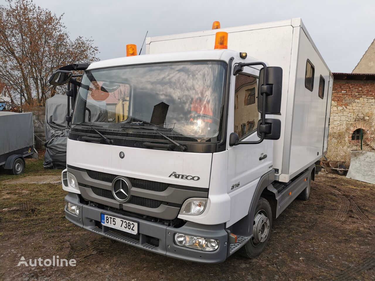 camion furgone MERCEDES-BENZ Atego 816