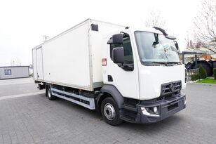 camion furgone RENAULT D12 , E6 , 4x2 , Box 18 EPAL side door  , tail lift Dhollandia