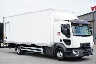 camion furgone RENAULT Midlum D12 , E6 , SLEEP CAB , 18 EPAL Box , Tail lift , side doo