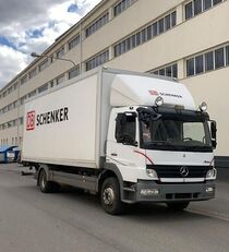 camion isotermico MERCEDES-BENZ Atego 1224 Open side