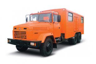 camion militare KRAZ 65053 мастерская nuovo