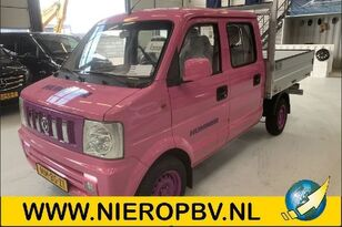 camion pianale DFSK V21 Dubb cab Airco MMBSZ1 * SPECIAL PINK HUMMER EDITION*