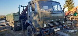 camion pianale KAMAZ 5320+KRANAS