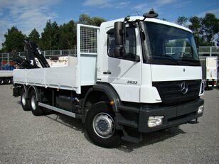 camion pianale MERCEDES-BENZ Axor 2633 6x4 Darus