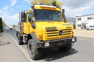 camion pianale MERCEDES-BENZ Unimog U 4000 437/25 EURO 5 Motor NEU