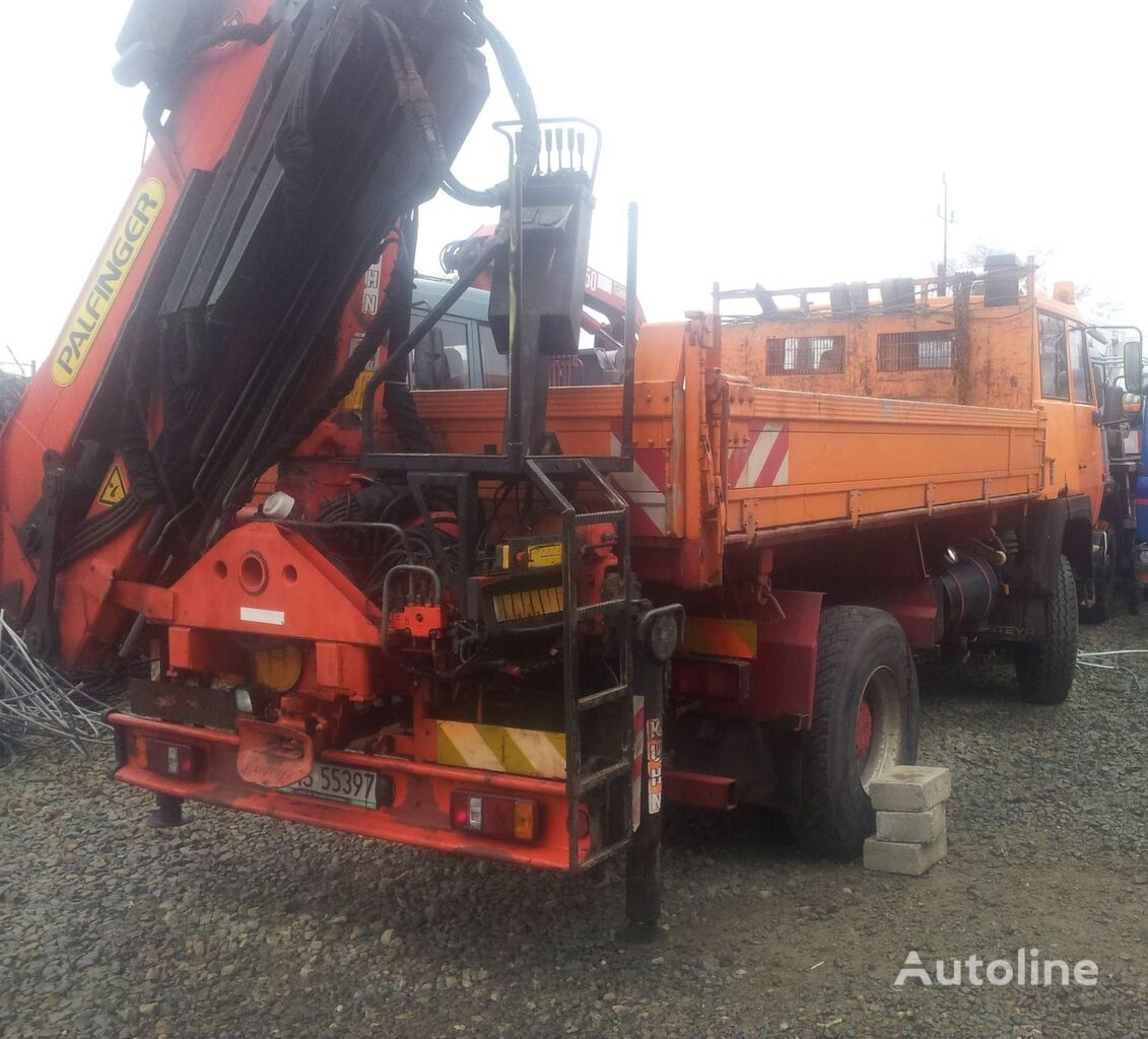 camion pianale STEYR 19S32