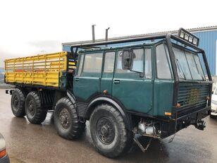 camion pianale TATRA 813 8x8 year 1981 unique oldtimer