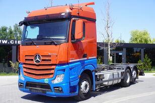 camion portacontainer MERCEDES-BENZ Actros 2542 , E6 , 6X2 , BDF , chassis 7,2m , retarder , 2 beds