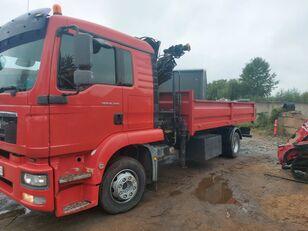 camion ribaltabile MAN 15-290 Hiab 102 radio control