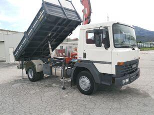 camion ribaltabile NISSAN Rib.Trilaterale portata 45 qli + GRU