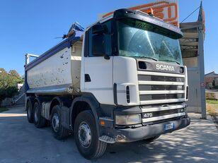 camion ribaltabile SCANIA 124 470