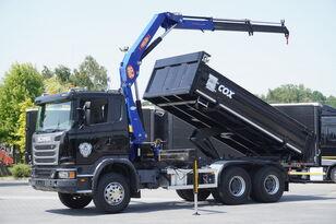 camion ribaltabile SCANIA G360