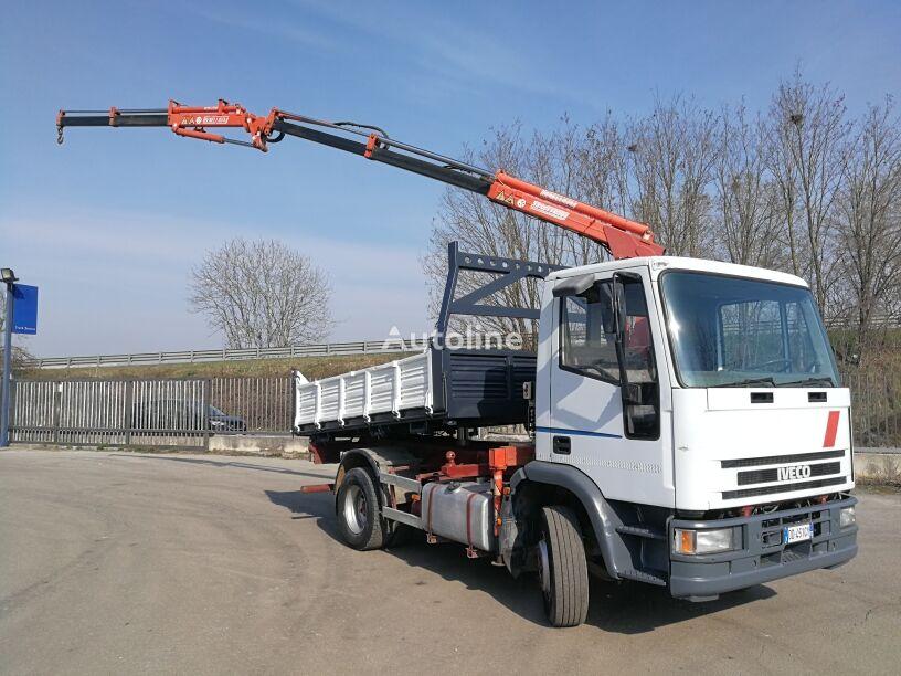 camion ribaltabile IVECO 120E23 9 MARCE RIBALTABILE + GRU BENELLI 45.10+2JIB
