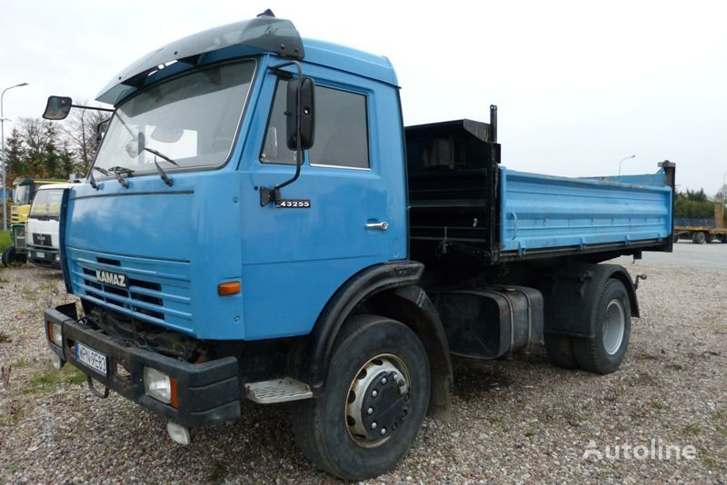 camion ribaltabile KAMAZ 43255