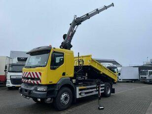 camion ribaltabile RENAULT Kerax 270 dci Darus 3 old Billencs