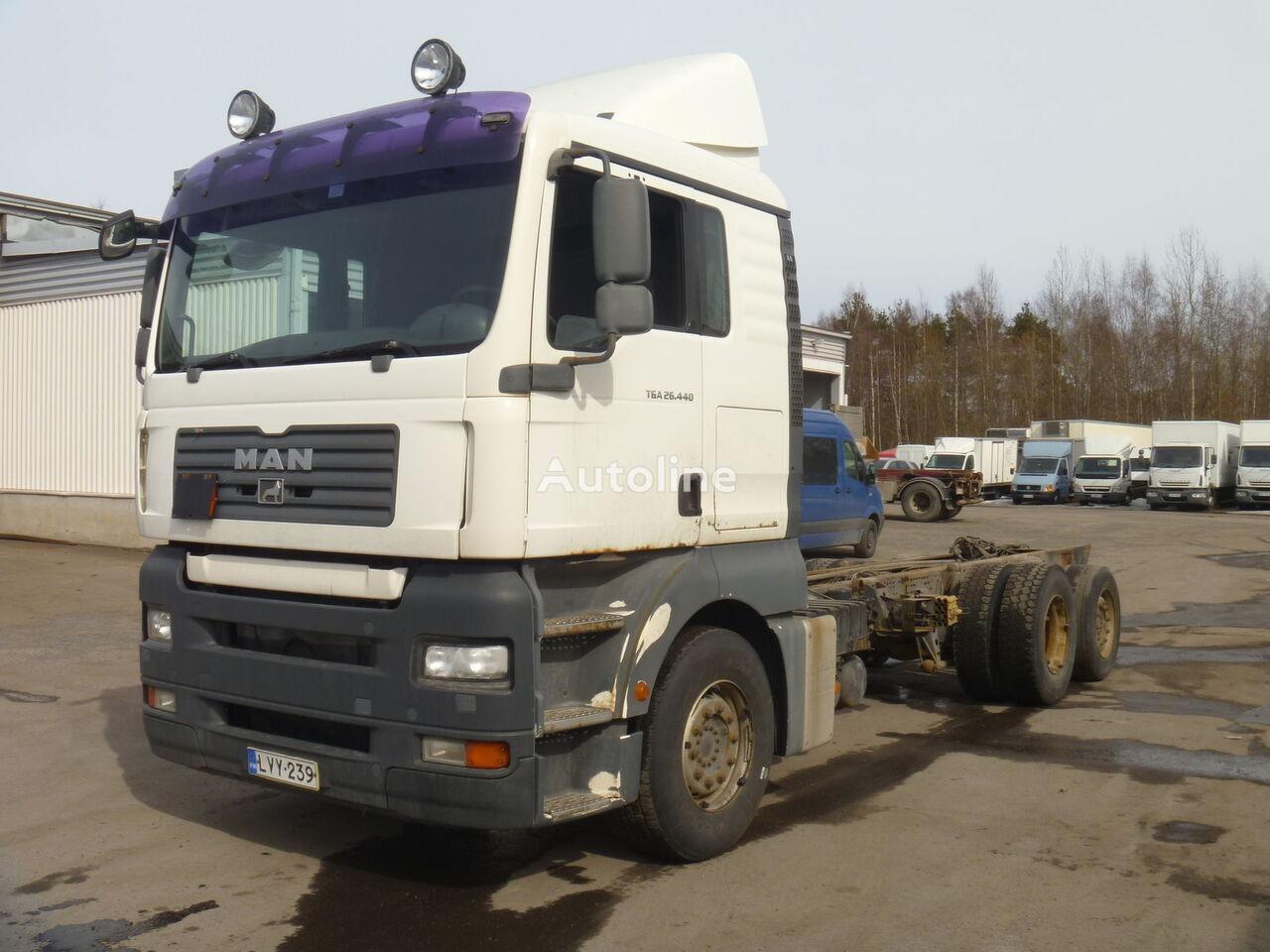 camion telaio MAN TGA 26.440 6X2