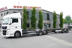 camion telaio MAN TGX 26.480 XLX , E6 , BDF SET + Krone Trailer BDF + rimorchio telaio