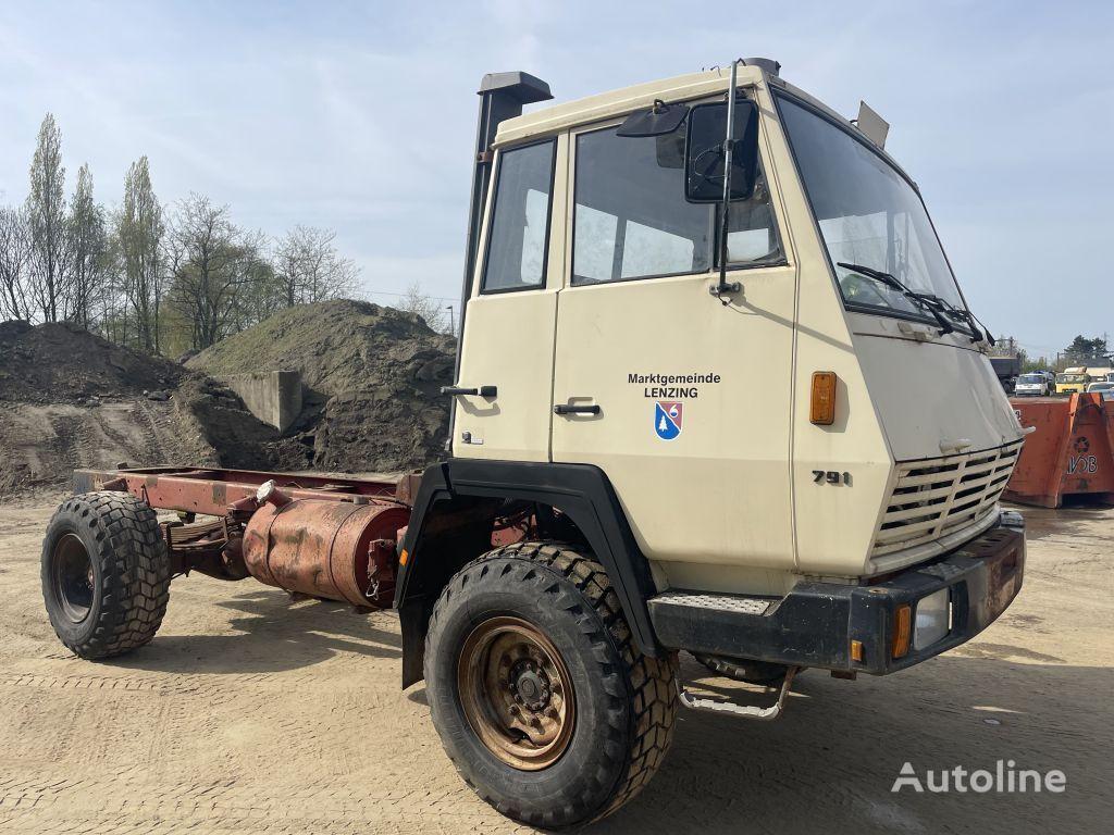 camion telaio STEYR 791 4x4 **MANUAL PUMP-AUSTRIAN TRUCK**
