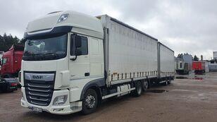 camion telonato DAF 480 + rimorchio telonato