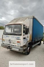 camion telonato RENAULT Midliner M140.13 left hand drive 6 cylinder 13 ton full springs