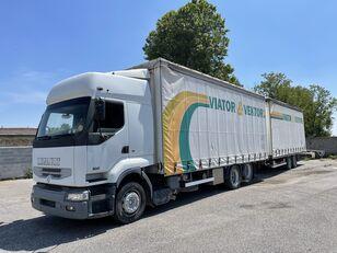 camion telonato RENAULT Premium 420 + rimorchio telonato