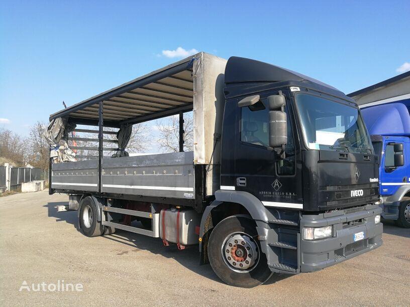 camion telonato IVECO EUROTECH 190E31 TELONATO 7,5 METRI  PORTATA 100 Q.LI