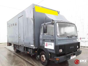 camion trasporto bestiame IVECO Magirus 80 16 horse truck