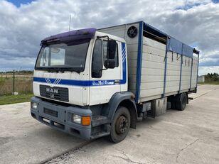 camion trasporto bestiame MAN 14.224 4x2 Animal transport